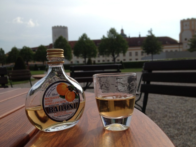 Liqueur Bottle Drink Melk Abbey Apricot Alcohol